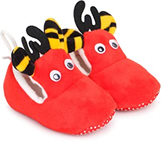 TRASE Deer Baby Girls and Baby Boys Soft Base Booties Shoes