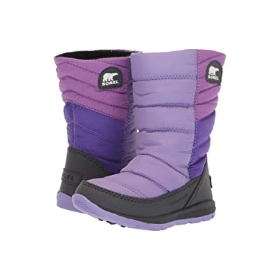 SOREL Kids Whitney Mid (Toddler/Little Kid) (Paisley Purple/Emperor) Girls Shoes