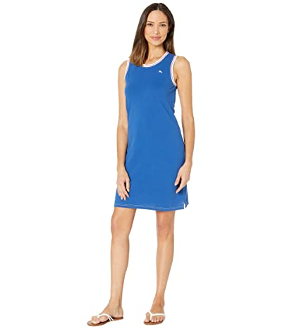 Tommy Bahama Paradise Classic Sleeveless Dress (Monaco Blue) Women