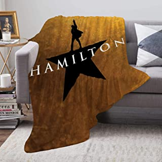 EVA GIBBONS Hamilton Super Soft Thick Warm Blanket Throw Blanket Home Essential Living Room Bedroom Warm Blanket (Medium (60x50in ), Hamilton 04)
