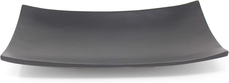 stpatinetes.es schwarz Trendy Wood & Light Kanu schwarz Holzschale ...