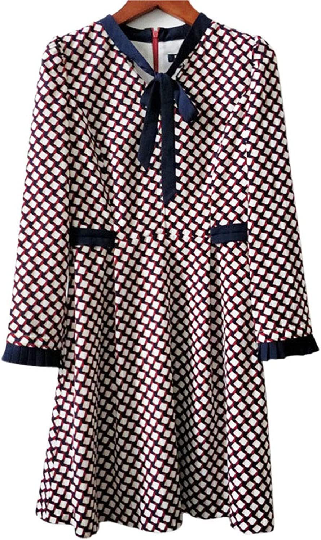 Ckouccoo 2019 New Large Swing Long Sleeve Dress Female Elegant Holiday Dress Exotic Gift Fashion Classic Beach