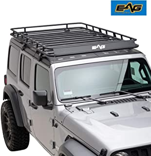 EAG 2018-2019 Jeep Wrangler JL 4 Door Roof Rack Full Length