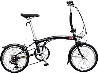 JEFFERYS(ジェフリーズ) 折りたた自転車 London Taxi ロンドンタクシー 16インチ FDB167 スチールフレーム イギリススタイル