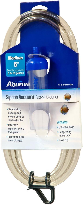 Aqueon Medium Siphon Vacuum Aquarium Gravel Cleaner