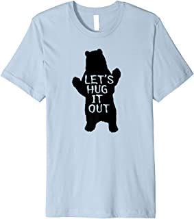Best let's hug it out shirt Reviews