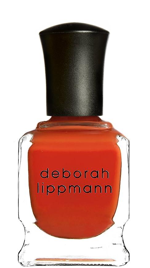 ティームただ潜在的な[Deborah Lippmann] デボラリップマン DON'T STOP BELIEVIN' ドント ストップ ビリービン 色:レッドオレンジ ネイルカラー系統:赤 15mL