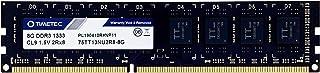 Timetec Timetec Hynix IC 8GB DDR3 1333MHz PC3-10600 Unbuffered Non-ECC 1.5V CL9 2Rx8 Dual Rank 240 Pin UDIMM Desktop Memor...