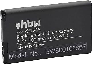 vhbw batería Compatible con Toshiba Camileo S20 S20-B S40 S45 cámara de vídeo videocámara (1000mAh 37V Li-Ion)