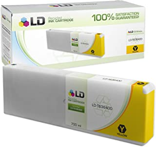 LD Remanufactured Ink Cartridge Replacement for Epson T636400 High Yield (Yellow)