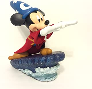Disney Sorcerer Mickey Mouse Light-Up Figurine Medium Statue New With Box