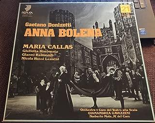 GAETANO DONIZETTI ANNA BOLENA OPERA IN DUE ATTI LIBRETTO DI FELICE ROMANI BOX 3 LPs BOOKLET ITALY 1957/1981