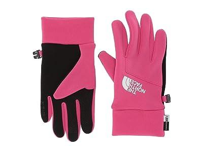 The North Face Kids Etiptm Gloves (Big Kids) (Mr. Pink) Extreme Cold Weather Gloves