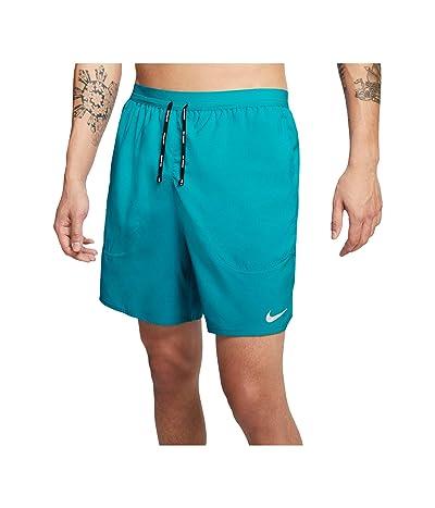 Nike Flex Stride Shorts 7 BF (Oracle Aqua/Reflective Silver) Men