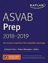 ASVAB Prep 2018-2019: 4 Practice Tests + Proven Strategies + Online (Kaplan Test Prep)