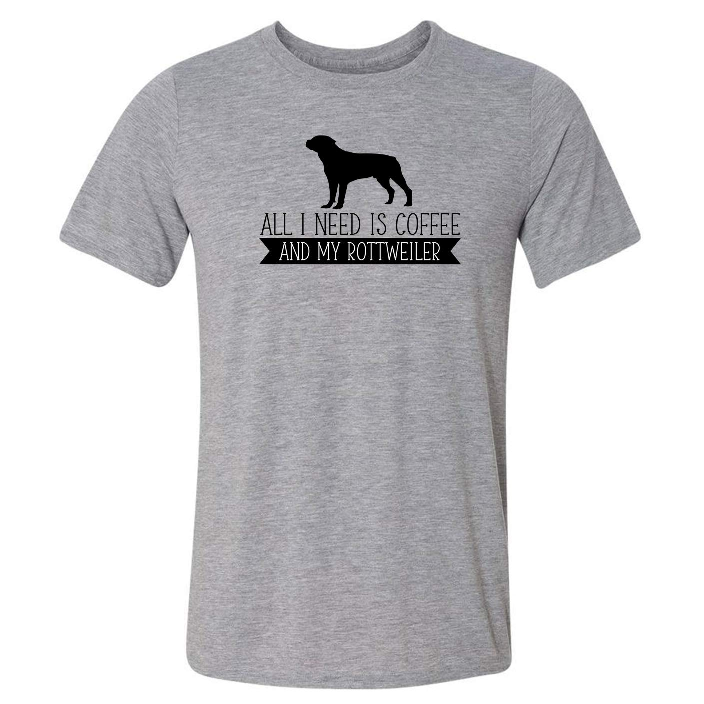 All I Need is Coffee Cheap mail order specialty store Rottweiler My T-Shirt and Department store