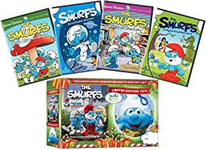 Ultimate Smurfs DVD Collection: The Smurfs: The Movie / True Blue Friends / Smurftastic Journey / World of Wonders / A Magical Smurf Adventure + Limited Edition Plush Toy + Bonus Blu-ray Edition of Th