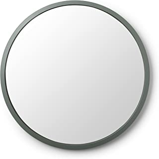 Umbra Hub Wall Mirror – 24 Inch Round Wall Mirror for Entryways, Washrooms, Living Rooms and More, Doubles as Wall Art, Sp...