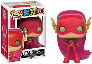 Funko - Figurine Dc Comics Teen Titans Go ! - Starfire As Flash Exclu Pop 10cm - 0889698100816