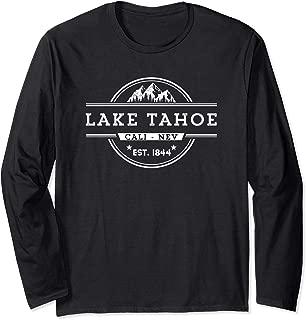 Long Sleeve Lake Tahoe Vintage Inspired Souvenir Shirt