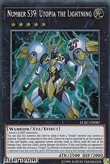 Yugioh Number S39: Utopia the Lightning - LCKC-EN087 - Secret Rare - 1st Edition Legendary Collection Kaiba Mega Pack