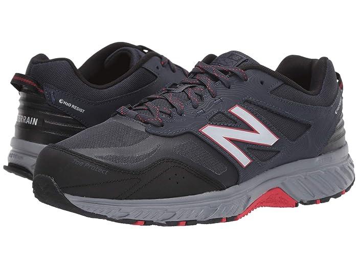 New Balance  510v4 (Thunder/Black) Mens Running Shoes