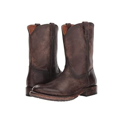 Frye Duke Roper (Redwood Stonewash Pull-Up) Cowboy Boots