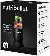 NutriBullet 600W Personal Blender, Matte Black, NBR-0831AK