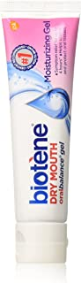 Biotene OralBalance Moisturizing Gel Flavor-Free, Alcohol-Free, for Dry Mouth, 1.5 ounce (Pack of 3)