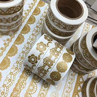 Best gold lace washi tape Reviews
