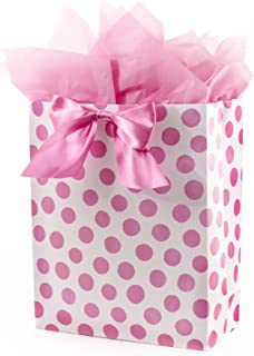 extra large pink gift bag