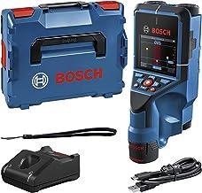 Bosch Professional 12V System Muurscanner D-tect 200 C (12V accu, detectie van (niet-)stroomvoerende kabels, metaal, plast...