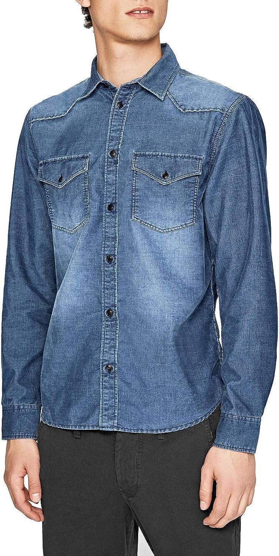 Pepe Jeans Camisa Canyon Cord para hombre: Amazon.es: Ropa