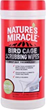 Nature's Miracle Bird Cage Scrubbing Clean Wipes 30pk