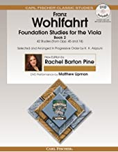 O2660X - Foundation Studies for the Viola - Book 2 - 42 Studies (from Opp. 45 and 74) - Book & DVD