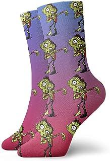 Hombres Mujeres Novedad Divertido Crazy Crew Sock Dabbing Horrible Zombie Impreso Sport Athletic Calcetines Calcetines de regalo personalizados