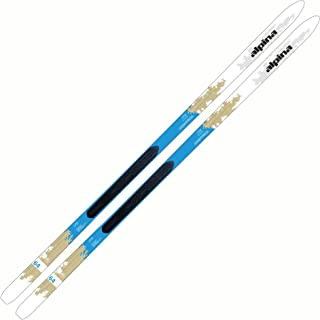 Alpina Sports Women's Control 64W Nordic Touring Skis with NIS Binding Mounting Plates Installed