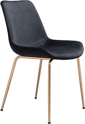 Zuo Tony Dining Chair, Black