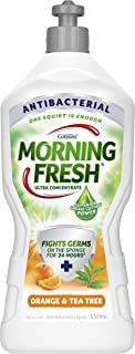Morning Fresh Antibacterial Orange and Tea Tree Dishwashing Liquid, Orange and Tea Tree 650 milliliters