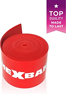 The x Bands Compression Band Tack and Floss WOD Injury Recovery Bandage - Flossing Strap to Boost Circulation to Joints & Muscles - Straps for Mobility Exercise, Fitness Workout, Cardio Training