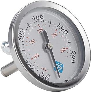 YUZI - Termometro per barbecue, analogico, con indicatore di temperatura ℃ ℉, per barbecue, barbecue, barbecue e fessure