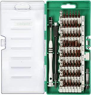 Kingsdun Precision Screwdriver Set, 60 in 1 Magnetic Driver Kit with 56 Mini Multi Bit Sets,Professional Repair Tool Kit for Iphone/Ipad /Macbook/PC/ Laptop/Xbox /Watches & Eyeglasses