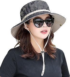 Unisex Sun Protection Hat Women Summer Golf UPF Bucket Cap Outdoor Packable Fishing Hiking Gardenning Headgear