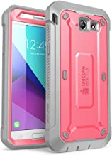 Samsung Galaxy J7 2017, Galaxy Halo Case, SUPCASE [UB Pro Series] Full-Body Rugged Holster with Built-in Screen Protector for Galaxy Halo/J7 2017 (SM-J727), Not fit J7 2018 (SM-J737) (Pink)