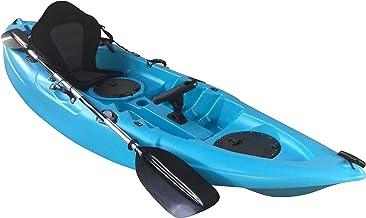 Cambridge Kayaks ES, Zander Azul Solo Kayak DE Pesca Y Paseo, RIGIDO,