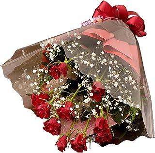 valentine 赤バラ花束 LOVE ROSE
