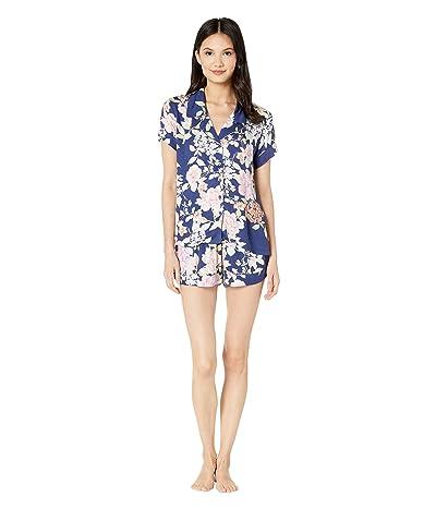 Yumi Kim Beauty Rest Pajama Set (Secret Garden Navy) Women