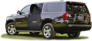 Roadie The OVERNIGHTER SUV Window Tent with Bug Screen and Retractable Awning – Great for Camping in an SUV. (Patented)