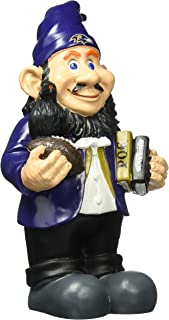 Forever Collectibles NFL Baltimore Ravens Garden GnomeCaricature Style, Team Colors, One Size