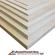 30x70 cm 12mm Multiplex Zuschnitt wei/ß melaminbeschichtet L/änge bis 200cm Multiplexplatten Zuschnitte Auswahl